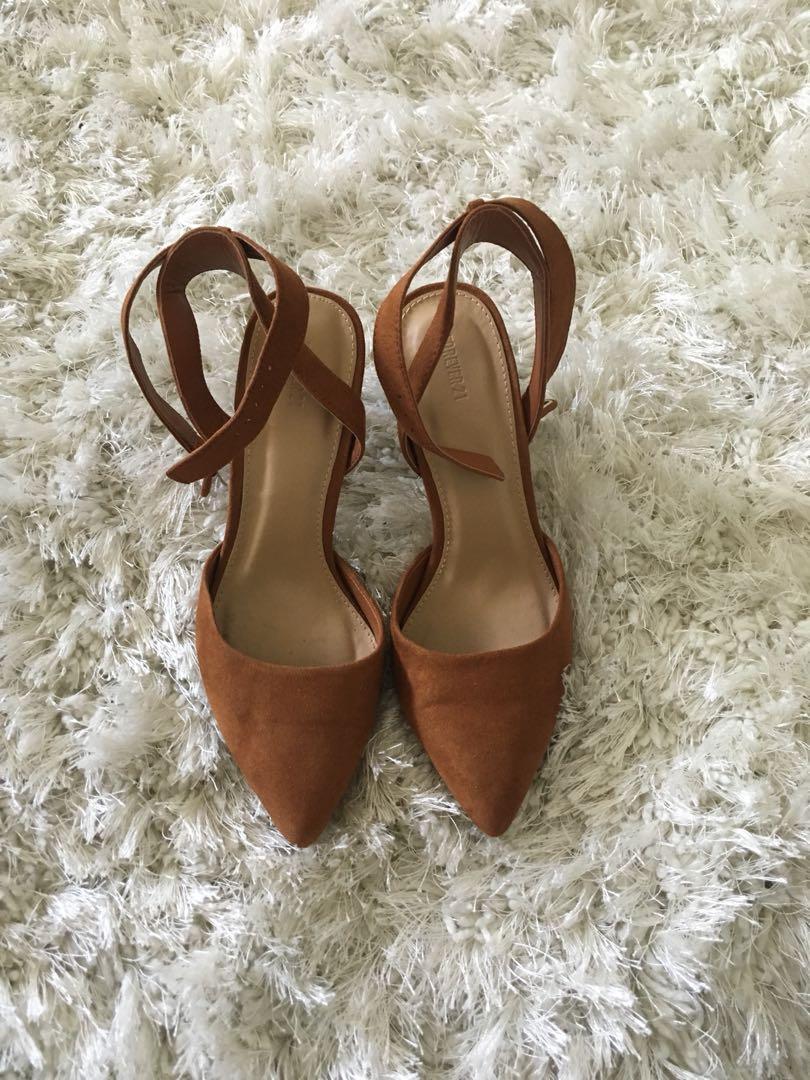 Soft Brown Heels