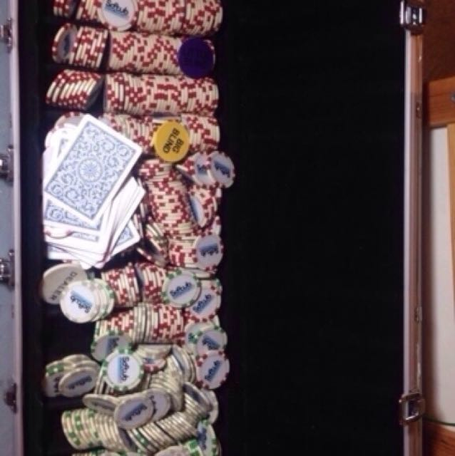 Softtub Poker chip set with case- XL