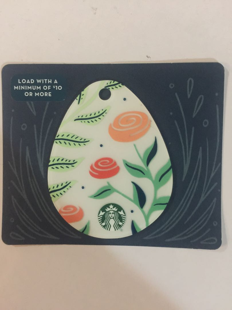 Starbucks easter floral special card ticketsvouchers gift cards photo photo photo negle Gallery