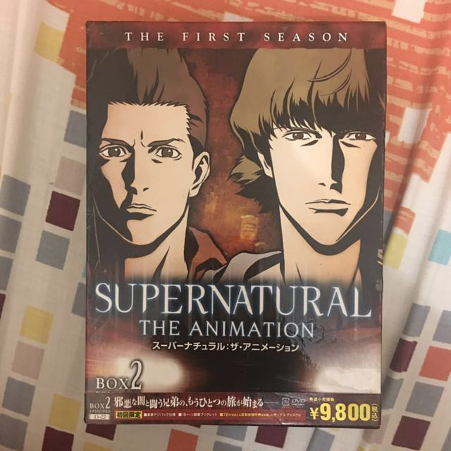 Supernatural The Animation DVD