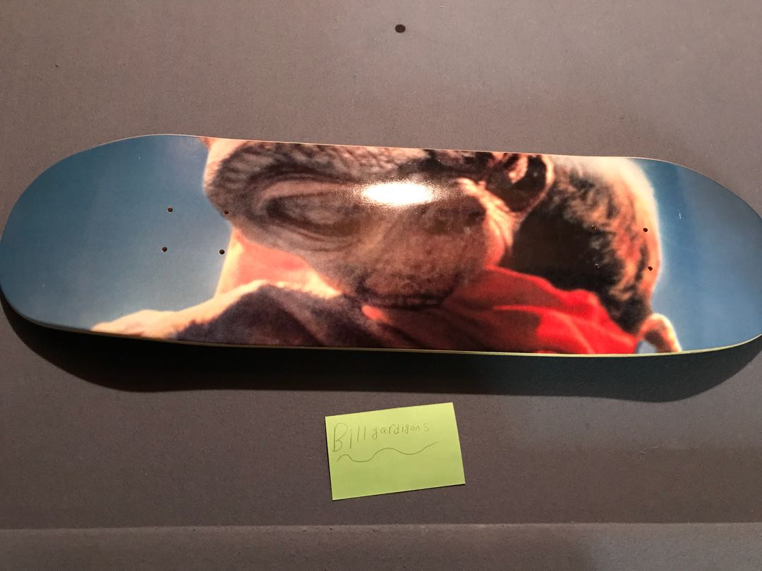 supreme ET movie skateboard deck alien