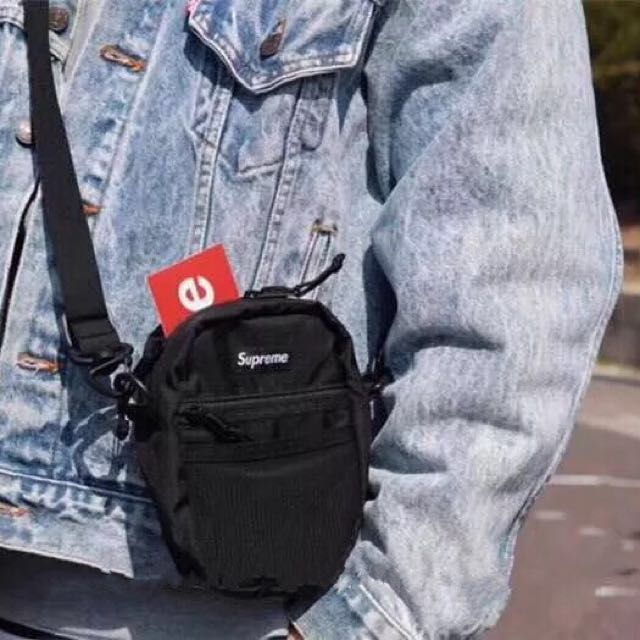 f60b4904c1e Supreme mini sling bag, Men's Fashion, Bags & Wallets, Sling Bags on  Carousell