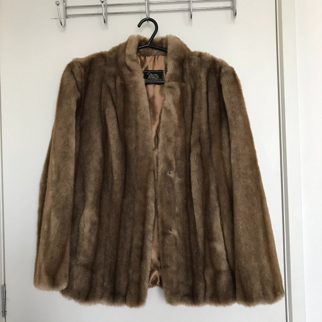 Synthetic Fur Coat
