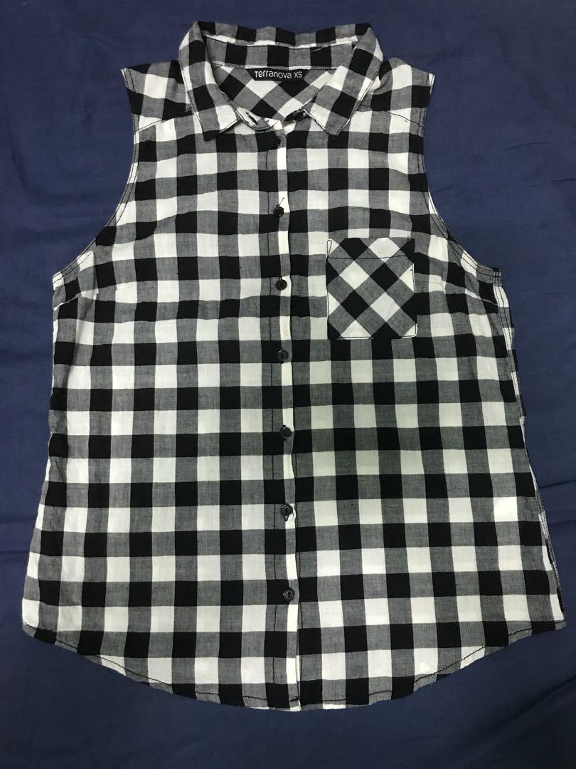Terranova black checkered