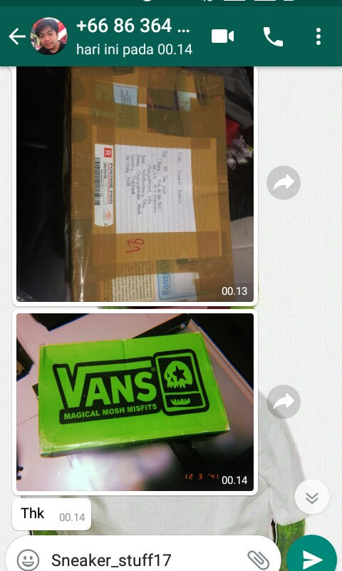 Testimoni Buyer From Thailand (+66)