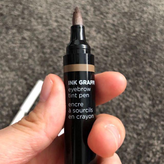 The Face Shop Eyebrow Marker and Browcara