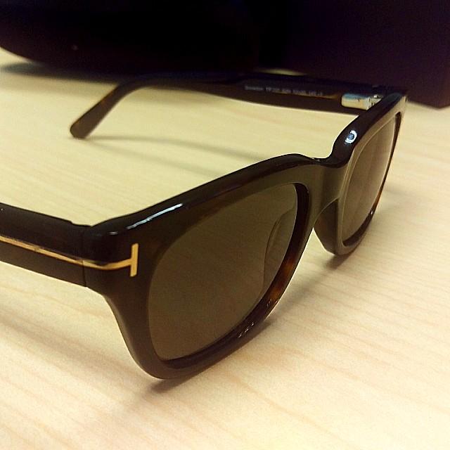 0eb40a6dab6c Tom Ford Snowdon Dark Havana Green Sunglasses New TF237 52N
