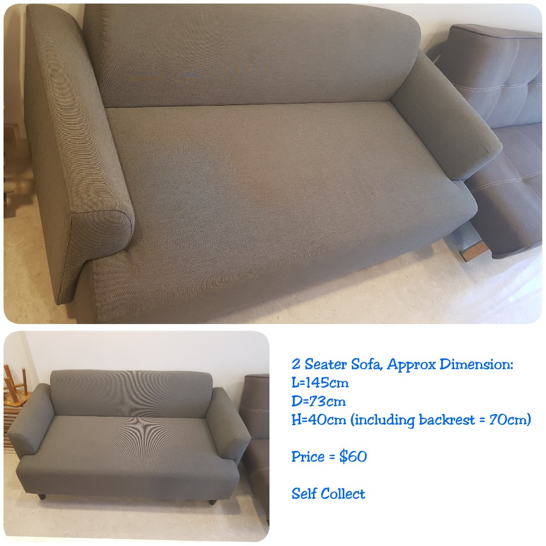 Used 2 Seater Sofa Set For Sale Furniture Sofas On Carousell