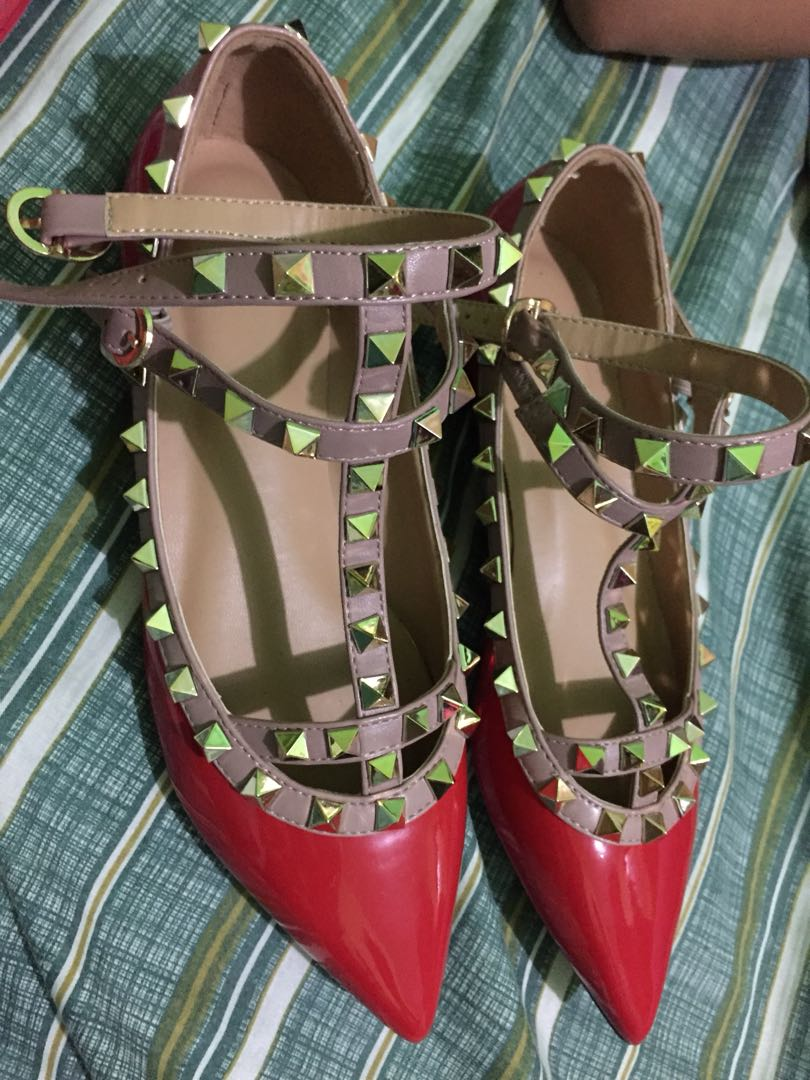 Valentino Inspired Flat Shoes