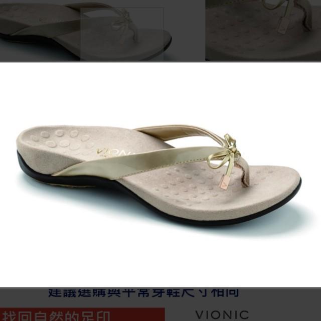 【美國VIONIC法歐尼健康時尚淑女拖鞋
