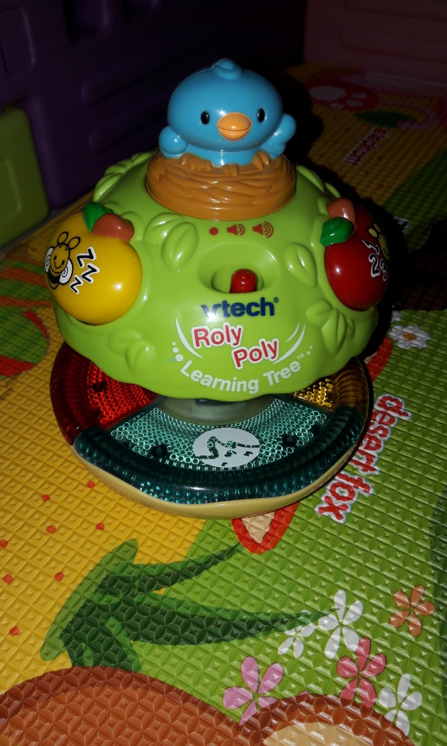 Vtech Roly Poly Learning Tree
