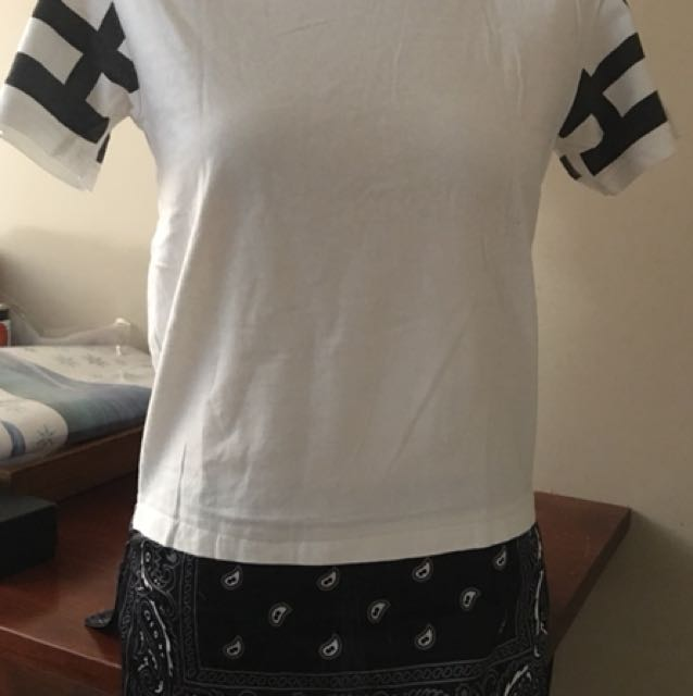 White Givenchy top