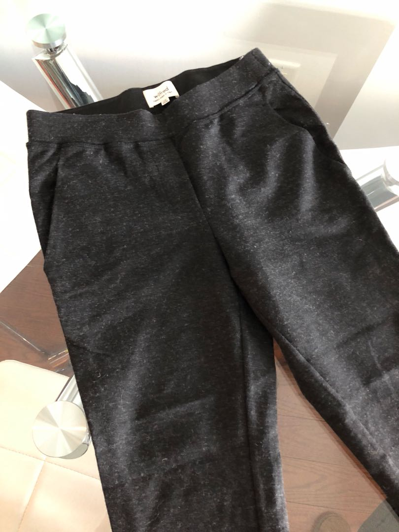 Wilfred Charcoal Trackies with pockets. Size XXS