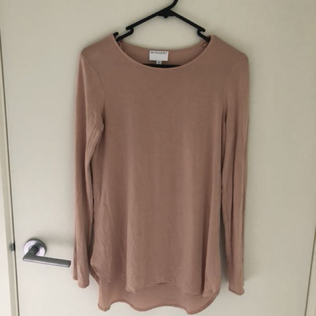 Witchery blush top