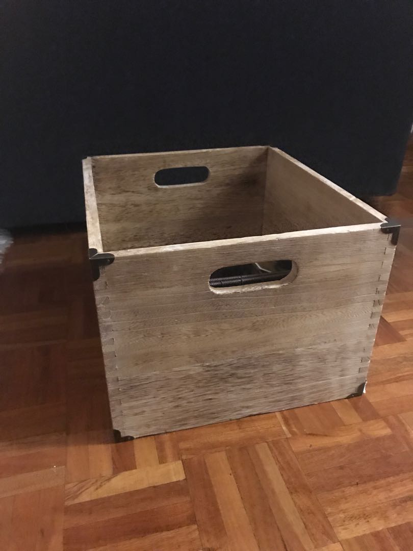 Wooden Box - Home Decor - New (never used)