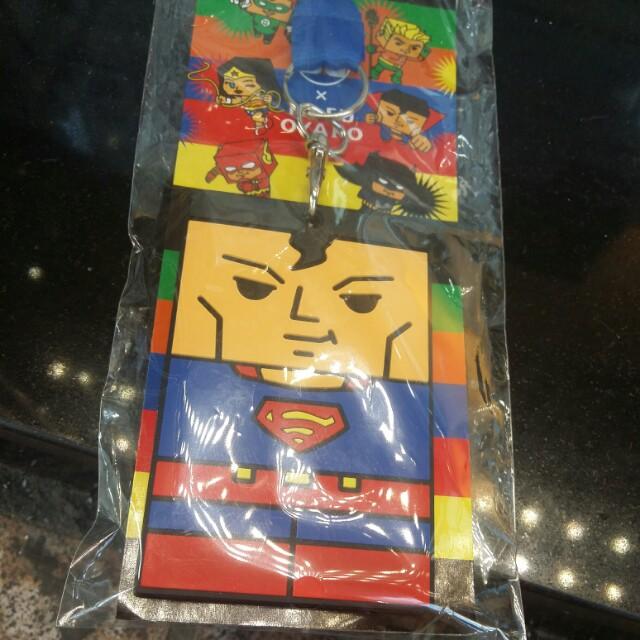 日本豆腐親子X超人八達通/證件套連頸帶全新原裝正貨