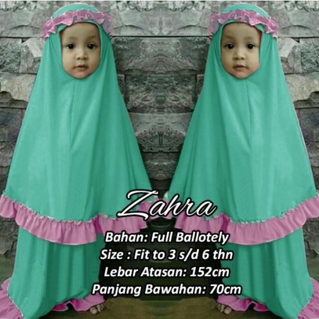 Zahraa mukena anak muslim