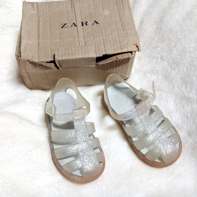 Zara Jelly Sandal    US6
