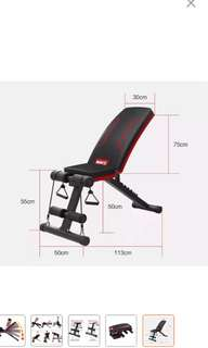 Gym fitness sit up workout bench chair