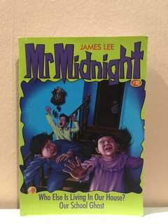 Mr Midnight Story Book By James Lee
