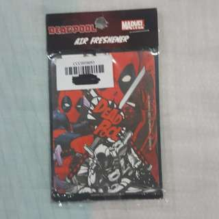 Legit Brand New Sealed Marvel Deadpool Strawberry Air Freshener