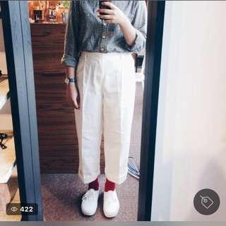 Lepsim lowrysfarm白色褲子
