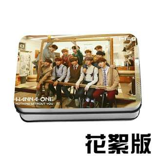 WANNA ONE 1-1=0 NOTHING WITHOUT YOU Behind the Scene Lomo Card