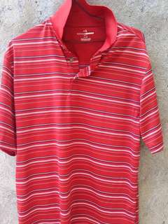 Grandslam Striped Polo Shirt for Golf