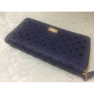 Kate Spade New York AUTH womens blue long wallet BNEW