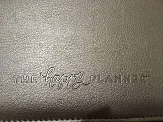 The Happy Planner with Rose Gold folio