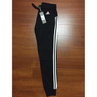 Adidas PANTS 3-STRIPES PANTS 縮口褲 女 修身 長褲 運動褲 S97115