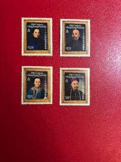 香港郵票- 19世紀香港畫像郵票