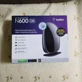 Belkin N600 router