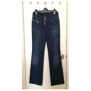 Dolce & Gabbana    女裝 低腰 小闊腳 牛仔褲  Ladies Jeans  @意大利製造 @Size 40