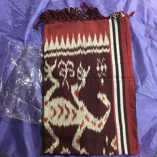 民族風棉麻布毯 長條地毯 流蘇毛毯