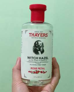 Thayer's Witch Hazel Toner (Rose Petal)