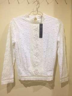 Korea lace blouse