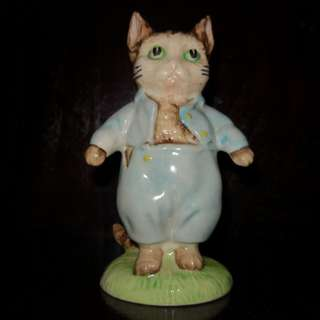 Vintage Royal Albert tom kitten figure