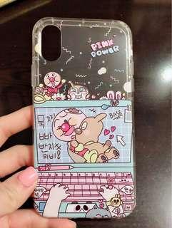 Iphone X麵包超人電話殻