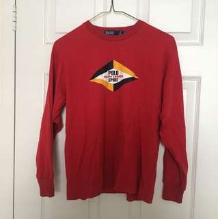 Red Ralph Lauren Longsleeve