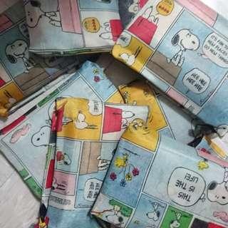 Snoopy 環保背心袋