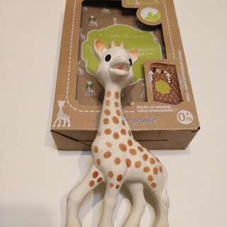 Sophie The Giraffe Toy Teether
