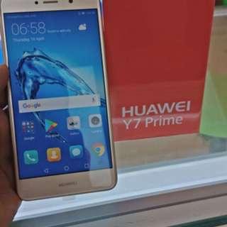 Huawei y7 prime kredit aeon/ awan tunai