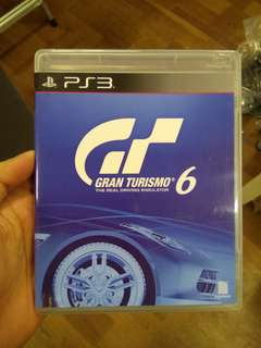 Gran Turismo 6 (GT6) - PS3