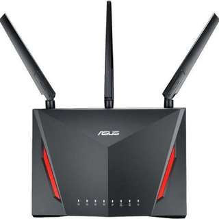Asus RT-AC86U AC2900 Dual Band Gigabit WiFi Gaming Router with MU-MIMO AiMesh