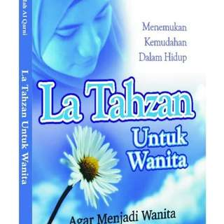 Buku Islam. Laa Tahzan