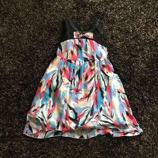 Alli&Ella Bow Printed Dress
