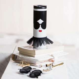 Alice&Olivia😎星巴克AO肖像不鏽鋼杯 Starbucks