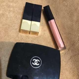 🚚 ❤️買一送一限量❤️ Chanel 香奈兒 雅詩蘭黛 口紅 眼影 修容餅