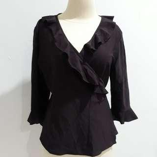 Baju kimono-ungu tua